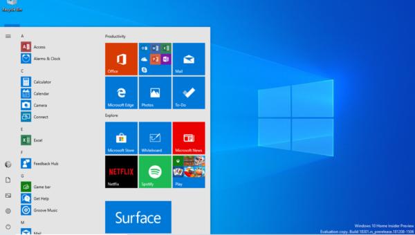 Veja as novidades do Windows 10 Insider Preview